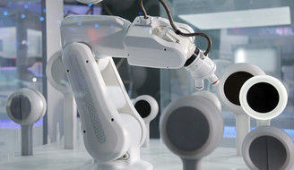 BMW Sustainable Materials Robot Microscope